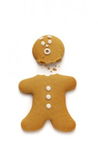 gingerbread man, by punkle at i-stock