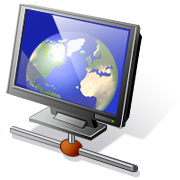 webmaster: the world on a computer screen