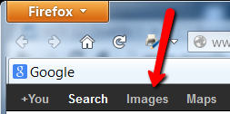 where to look for Google image search